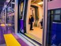 Metro linea 5 in stazione