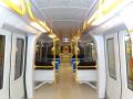 Metro linea 5 interno vagone