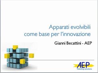 Apparati evolvibili come base per l'innovazione