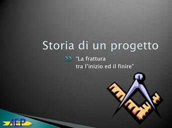Storia di un progetto