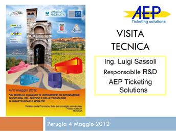 Visita tecnica presso Umbria mobilità