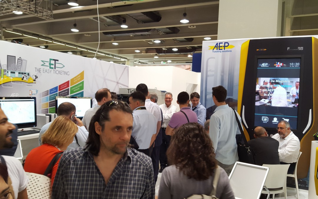 Successo AEP al World Congress and Exhibition di UITP 2015