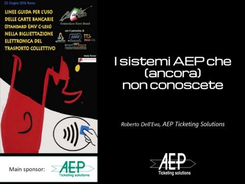 I sistemi AEP che (ancora) non conoscete