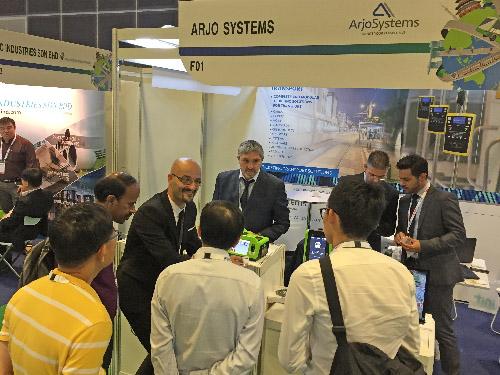 AEP con ArjoSystems al SITCE Singapore
