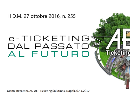 e-Ticketing dal passato al futuro