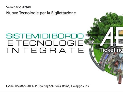 Sistemi di bordo e tecnologie integrate