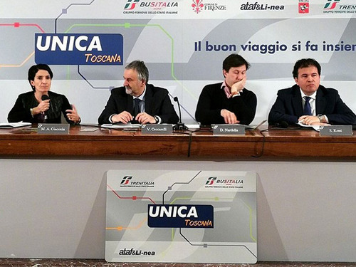 Con UNICA TOSCANA avviato sistema di Firenze