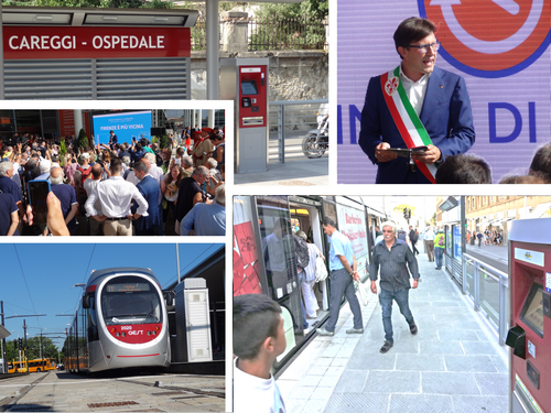 A Firenze parte T1 Leonardo