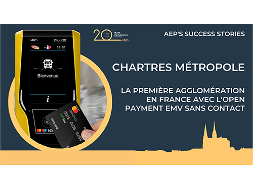 Chartres: the first city in France with EMV Open Payment