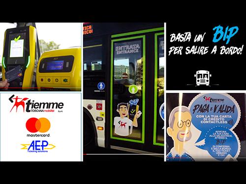 Grosseto: la prima città con EMV contactless a bordo dei bus