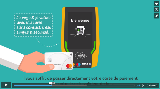 Mastercard video about Chartres AEP system