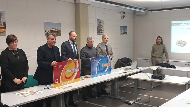 The e-ticketing system of CTT Nord activated in Lucca