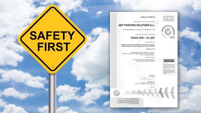 Ad AEP la certificazione OHSAS 18001