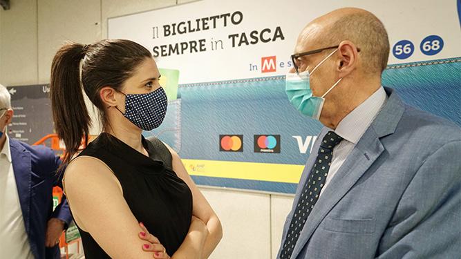 E' partito a Torino l'EMV by AEP in metrò e sui bus